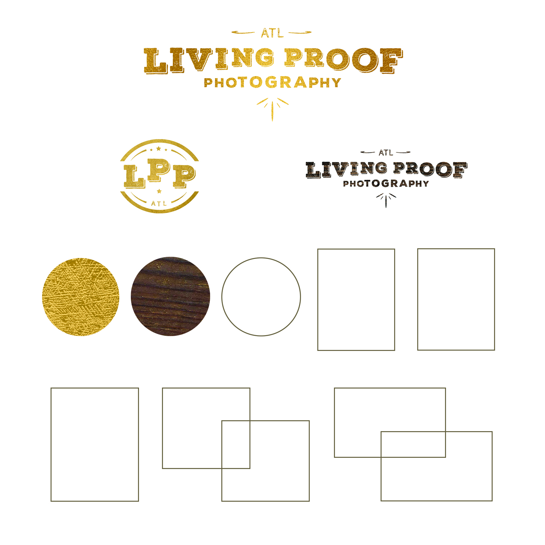 Branding: Living Proof Photography